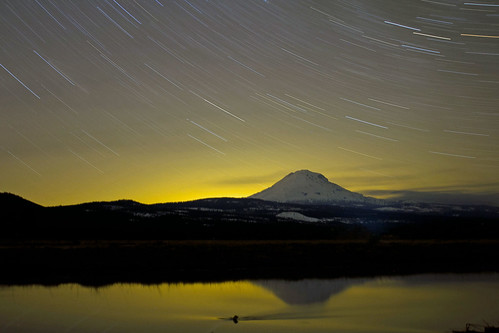 startrails over adams