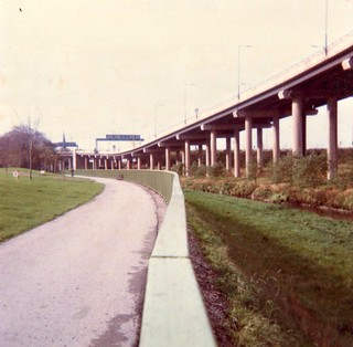 Aston Express Way nr.Spaghetti Junction Birmingham Oct 1978