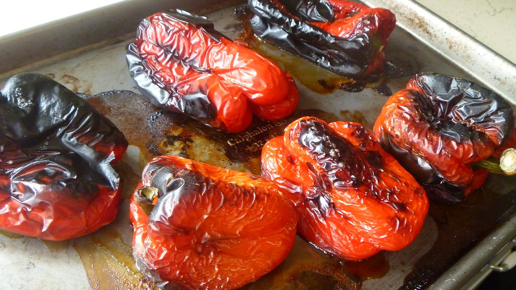 Roast the Bell Peppers