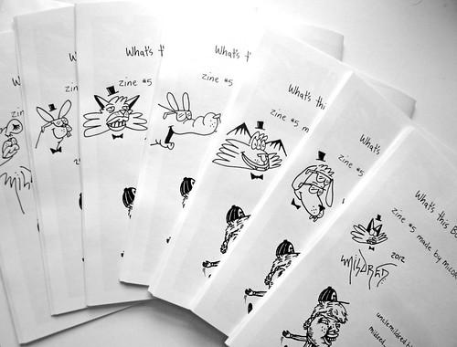 quick zine doodles