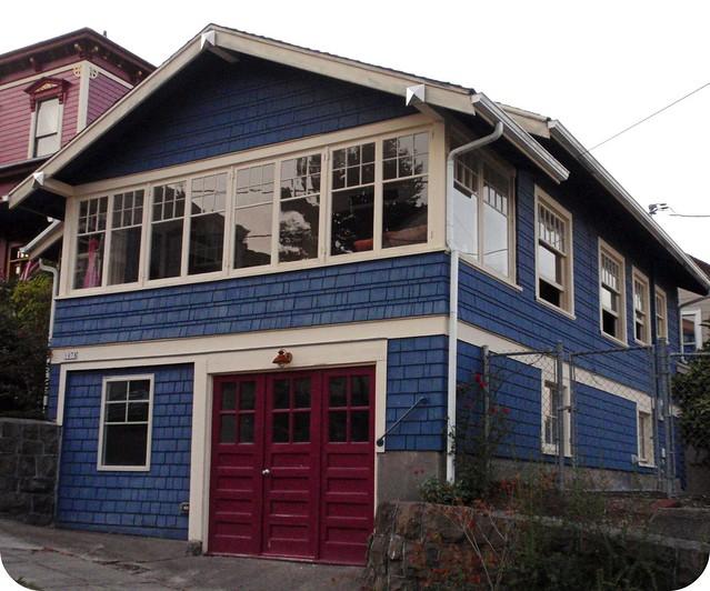 blue craftsman house flickr photo sharing
