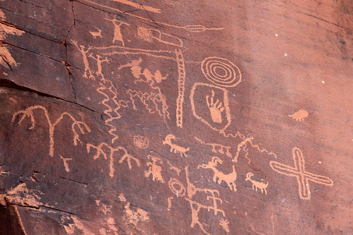 Valley of Fire - Petroglyphs
