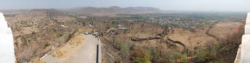 panorama india hugin daulatabadfort
