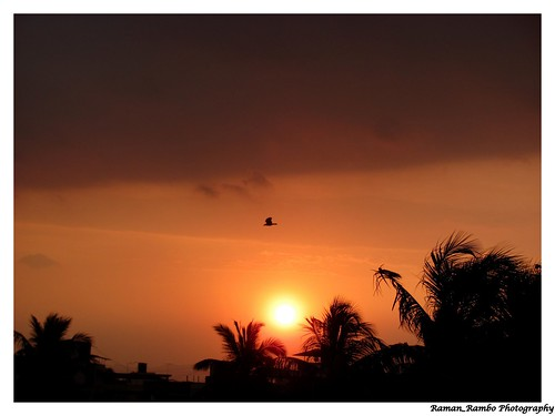 Sunset .. :)