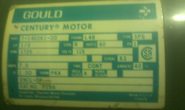Wiring Diagram For Gould Century Motor : Gould century electric motor wiring diagram share the