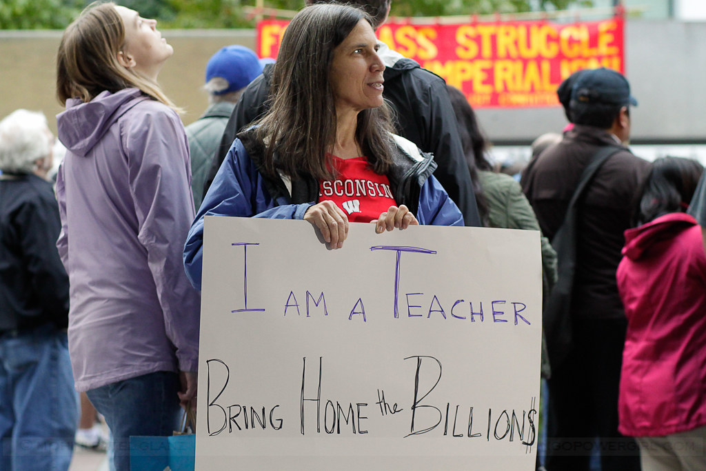 occupy seattle - teacher
