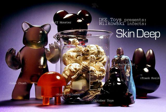 Skin Deep by Scott Wilkowski (postcard front)