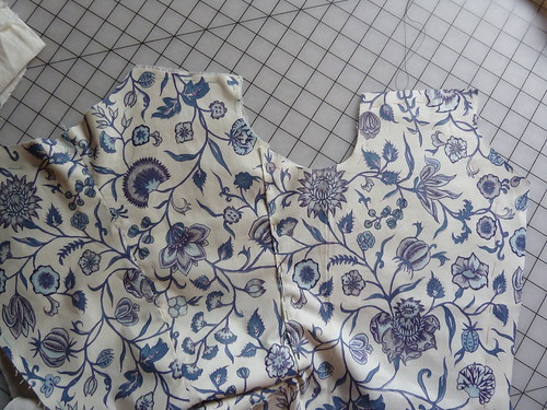 blue chintz jacket 34
