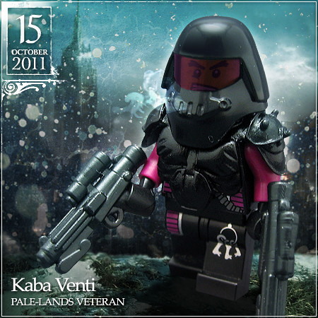 October 15 - Kaba Venti, Pale-Lands Veteran