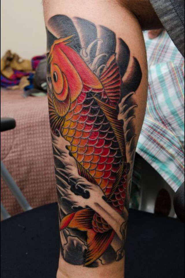 Koi fish tattoo flickr photo sharing for Koi meaning in english