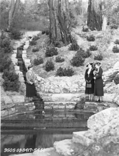 Pond at Golden Gardens, 1936