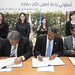Signing Ceremony - Peace corps strengthens global partnership with FAO and WFP