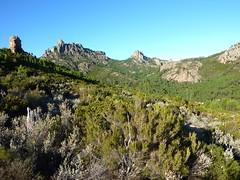 Sentier de Capeddu : sur le GR20, Punta Balardia et Punta Batarchjone