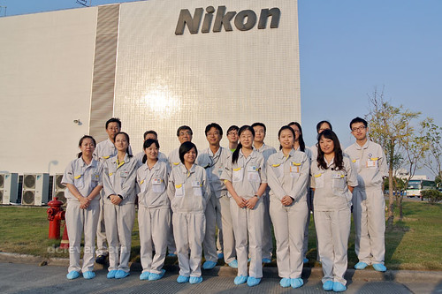 Nikon 1 factory in China