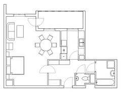 technical drawing, line art, line, floor plan, drawing,