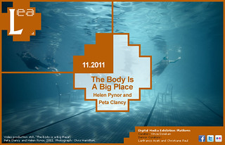 Announcing 'The Body Is A Big Place'