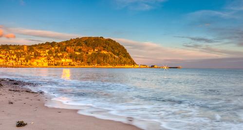 uk autumn sea england sky southwest beach digital sunrise october pentax somerset hdr lightroom minehead 2011 photomatix andrewbennett k20d lightroom3 justpentax pentaxk20d pentaxart smcpda1855mmf3556alwr photomatix4