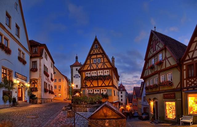 Pan_30995_31000_ETM2 / Rothenburg ob der Tauber – Germany