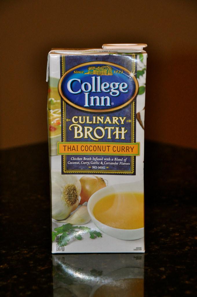 Thai Coconut Curry Broth