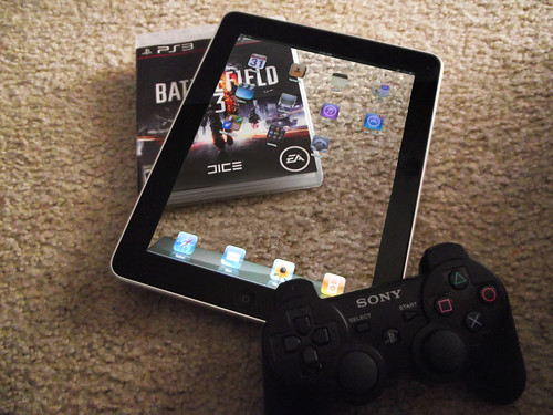 iPad+PS3=Awesome