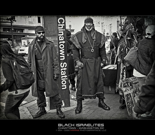 Black Israelites - Chinatown - Washington DC