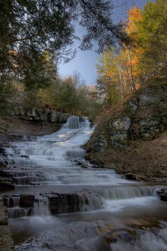 water waterfalls rensselaerville rensselaervillefalls