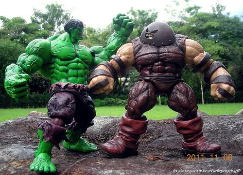 Hulk Vs Juggernaut Marvel Select Hulk And Juggernaut