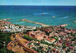 Rhodes - Air View (Postcard)