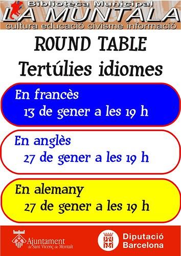 Round table gener by bibliotecalamuntala