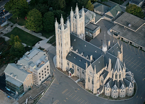 Wings Over Guelph:Church Of Our Lady Immaculate #2 by peterkelly