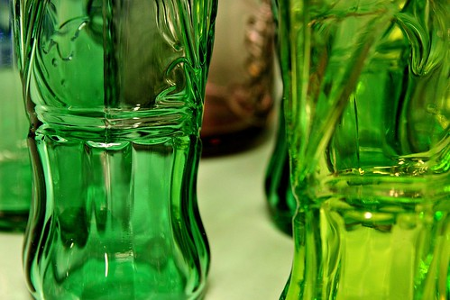 Green green glass of home :)