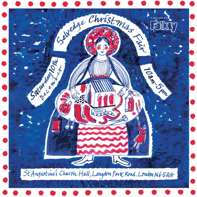 My mam and me will be sharing a stall at the upcoming Selvedge Christmas Fair on Saturday 10th December 2011, 10am to 5pm | Emma Lamb