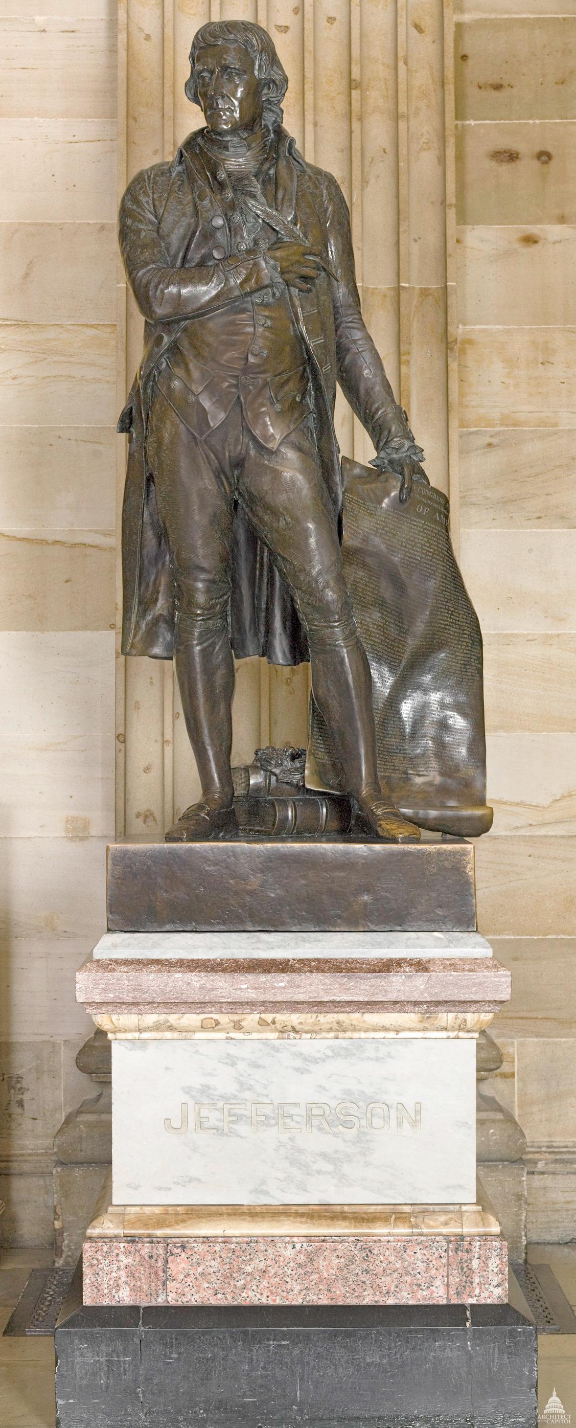Thomas Jefferson Statue Architect Of The Capitol