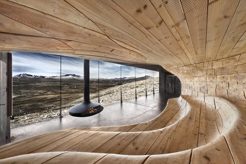 I need a guide: tverrfjellhytta by snohetta - geekless