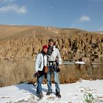 Dan & Audrey at Kandovan Village, Iran