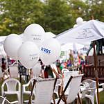 Gala day balloons | Balloons on RBS Schools Gala Day