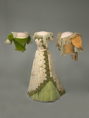 Frances Cleveland's Skirt and Bodices