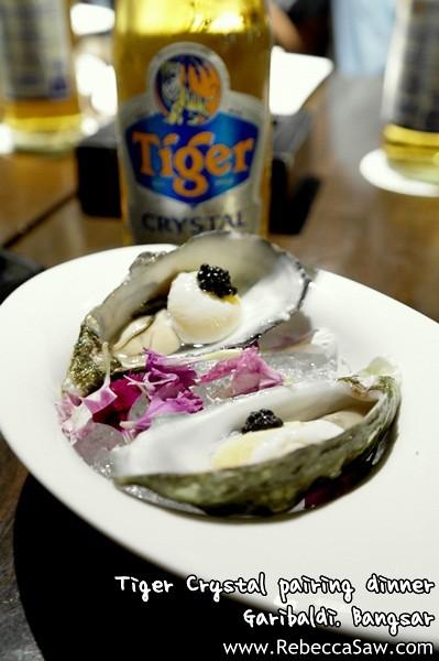 Tiger Crystal pairing dinner - Garibaldi Bangsar-1