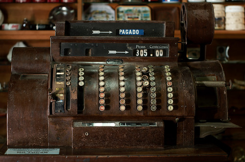 Old cash register @ Museo de los Lapices | Granja Arena | Colonia