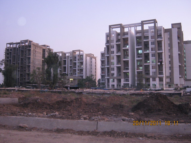 Rohan Tarang Wakad, Pune 411 057 - Under construction building is the A Building, of which, now, booking is open