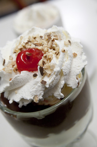 The World Famous Hot Fudge Sundae, Ghiradelli Chocolate Caffé, Ghiradelli Square, San Francisco