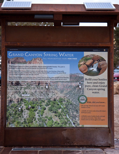 Grand Canyon Spring Water Refilling Station