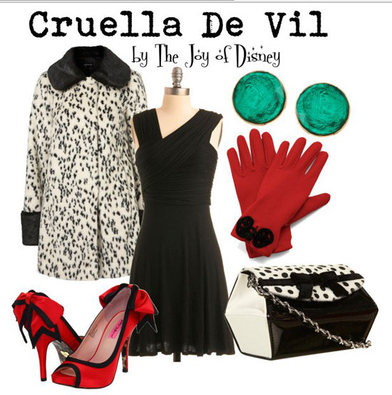 Inspired by: Cruella De Vil
