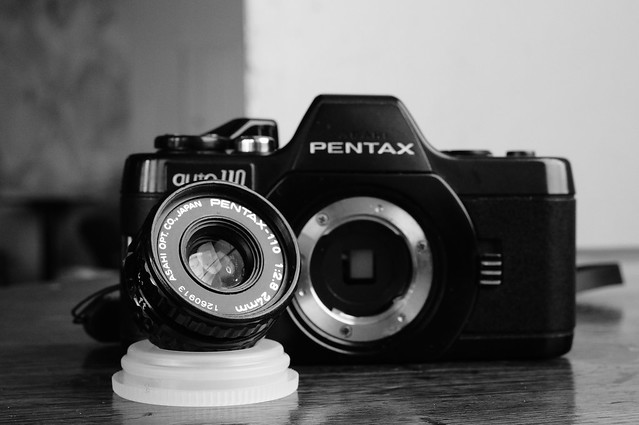 pentax auto 110 24mm f/2.8 and Sony NEX 5N