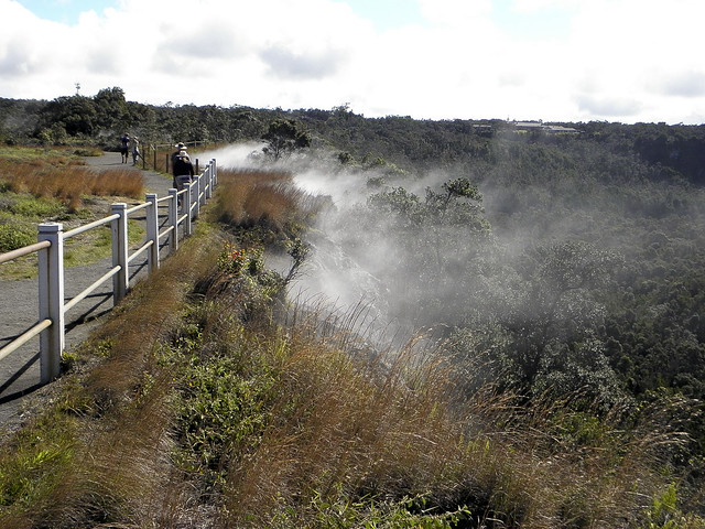 Steam Vents at Hawaii Volcanoes National Park