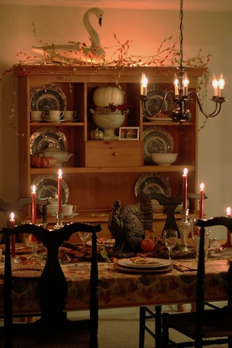 Thanksgiving Dining Room by DiPics