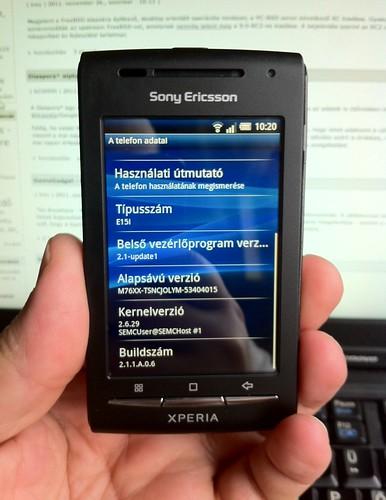 Sony Ericsson Xperia #3