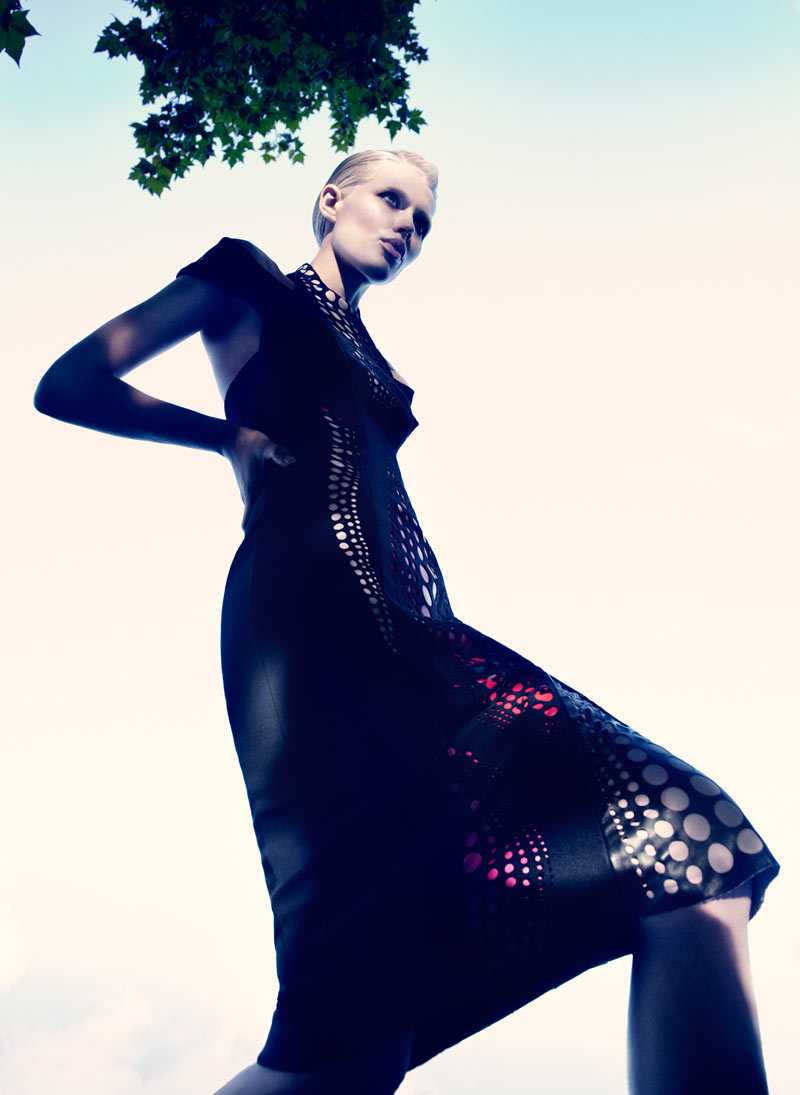 Alys Hale in David Koma by Paul Scala for V Magazine Online 2