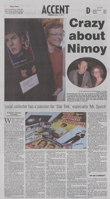Collecting Nimoy