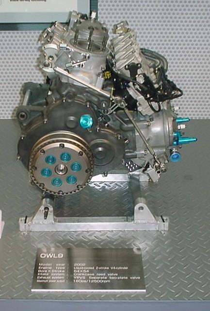 2002 YAMAHA YZR500 OWL9
